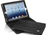 Aluratek Bluetooth Folio Case With Removable Keyboard for All Ipads (Aluratek: ABTK01F)