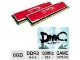 Kingston HyperX Red 8GB Memory Module and Kingston HyperX Coupon- Devil May Cry Download Bundle (Kingston: KHX16C9B1RK2/8X Bundle)