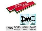 Kingston HyperX Red 16GB Memory Module Kit and Kingston HyperX Coupon- Devil May Cry Download Bundle (Kingston: KHX16C10B1RK2/16 Bundle)