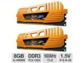 GEIL Enhance Crosa Series 8GB Desktop Memory Module Kit -  DDR3, 2 x4GB, PC3-12800, 1600MHz, C9, 1.5V, Dual Channel (GeIL: GS38GB1333C9SC)