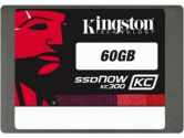 Kingston 60GB SSDNow KC300 SSD SATA3 2.5in 7MM Height W/ADAPTER� (Kingston: SKC300S37A/60G)