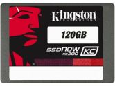 Kingston 120GB SSDNow KC300 SSD SATA3 2.5in 7MM Height W/ADAPTER (Kingston: SKC300S37A/120G)