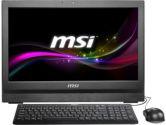 MSI AP2021-029US i3 2120 4GB 500GB 20IN Multi Touch DVDRW WLAN HDMI USB3.0 W7P All in One PC (MSI/MicroStar: 9S6-AA7211-029)
