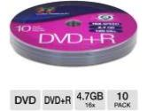 Color Research DVD+R 10-Pack and Color Research Movie/Music 20 Disc Carrying Case Bundle (Color Research: C18-42011 Bundle)
