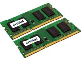 Crucial CT2KIT51264BF160B 8GB 2X4GB 240-PIN SODIMM DDR3-1600 PC3-12800 Laptop Memory (CRUCIAL TECHNOLOGY: CT2KIT51264BF160B)
