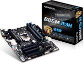 Gigabyte GA-B85M-D3H mATX LGA1150 DDR3 1PCI-E16 2PCI-E1 1PCI HDMI SATA3 USB3.0 Motherboard (Gigabyte: GA-B85M-D3H)