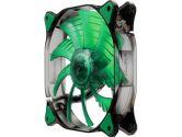 Cougar Cfd 140mm 1000RPM 124.4CFM 18DB Green LED Fan (Cougar: CFD14HBG)