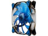 Cougar Cfd 140mm 1000RPM 124.4CFM 18DB Blue LED Fan (Cougar: CFD14HBB )