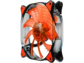 Cougar Cfd 140mm 1000RPM 124.4CFM 18DB Red LED Fan (Cougar: CFD14HBR�)