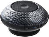 Toshiba TYSP1Z 3W Bluetooth Speaker With Speakerphone 8 Hour Battery Life Carbon Black (Toshiba Consumer Electronics: TY-SP1Z)