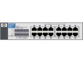 HP V1410-16G 16PORT 10/100/1000 1U Rackmountable Switch (HP Commercial: J9560A#ABA)