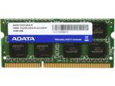 ADATA 4GB 1X4GB DDR3-1333MHZ C9 204PIN SODIMM Memory Kit (AData Technology: AD3S1333C4G9-R)