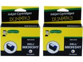 For Dummies Dell MK993HY Color Inkjet Cartridge 2 Pack 926 V305W V305 Series 9 Remanufactured (For Dummies: DD-MK993HY(2PK))