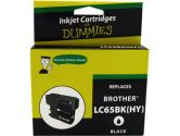 for Dummies Brother LC65 Black Inkjet Cartridge (For Dummies: DB-LC65BK)