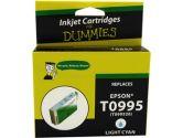 For Dummies Epson T0995 Light Cyan Inkjet Cartridge Remanufactured (For Dummies: DE-T0995)