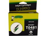 For Dummies Epson T0481 Black Inkjet Cartridge Remanufactured (For Dummies: DE-T0481)