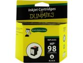 For Dummies HP 98 Black Inkjet Cartridge C9364WN Remanufactured (For Dummies: DH-98 (C9364W))