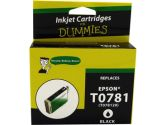 For Dummies Epson T078 781782783784785786 Inkjet Cartridges BK & Colors 6pack Remanufactured (For Dummies: DE-T078(6PK))