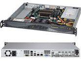 Supermicro 5018D-MF 1U Xeon E3-1200 LGA1150 C222 DDR3 2SATA PCIe IPMI 350W (SuperMicro: SYS-5018D-MF)