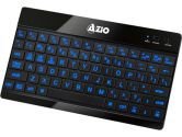 Azio KB335 BLUETOOTH3.0 Blue Backlit Rechargeable for All Platform Tablet Keyboard (AZIO Corporation: KB335)