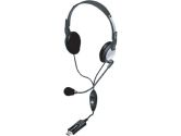Andrea Electronics NC-185VM USB Computer Headset With Noise Cancelling Microphone & Volume Controls (ANDREA ELECTRONICS: C1-1022600-1)