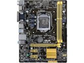 ASUS H81M-A uATX LGA1150 H81 DDR3 1PCI-E16 2PCI-E1 SATA3 USB3.0 HDMI Motherboard (ASUS: H81M-A)
