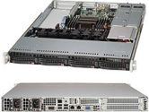 Supermicro 5017R-WRF 1U Xeon E5 LGA2011 C602 RDIMM 4SATA 3PCIE UIO IPMI 2GBE 500W Redun (SuperMicro: SYS-5017R-WRF)