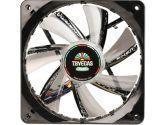 Enermax T.B.VEGAS Quad 120mm BLUE  RED  Green & White LED Twister Bearing PWM Aps FUNC. Case Fan (ENERMAX: UCTVQ12P)