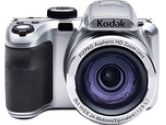 Kodak AZ361-SL Silver 16.15 Megapixels Wide Angle Astro Zoom Digital Camera (Kodak: AZ361-SL)