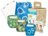 Bumkins Diaper Bundle 3-Pack- Boy Elements, Small (Bumkins: 014292967873)