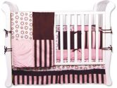 Bubblegum 4 Piece Crib Bedding Set by Trend Lab (Trend Lab: 846216011078)