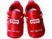 Silly Souls SH_FF_0 Fart Factory shoes - 0-6 months (Silly Souls: 812667010328)