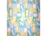 American Baby Company 2653SP CE Percale Porta-Crib Sheet (Celery Stars) (American Baby Company: 656173653316)