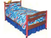 Room Magic Choclate Twin Bed, Boys Like Trucks (Room Magic: 854652002239)