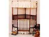 Eyelet Corner Crib Bedding - Color White Eyelet (Baby Doll: 009243142706)