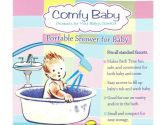 Comfy Baby - Portable Shower Spray For Baby (Comfy Baby: 799078000158)