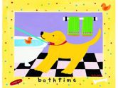 Art4Kids 37021 Bath Time - Dog with Tub - Contemporary Mount (Art4Kids: 754103370217)