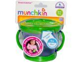 Munchkin Snack Catcher, 9-Ounce, 12+ Months, White (Munchkin: 735282101212)