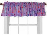 Room Magic RM14-GT Window Valance, Girl Teaset (Room Magic: 894412002185)