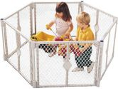 Northstates 8669 Superyard XT Portable Playard and Gate (Northstates: 026107086693)