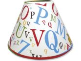 Trend Lab- Dr. Seuss Lampshade, Abc (Trend Lab: 846216011986)