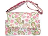 Trend Lab Paisley Park Messenger Style Diaper Bag - Pink (Unknown: 846216001239)