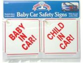 Baby Car Safety Signs (Baby King: 094606009833)