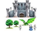 Medieval Castle Dragon Knight Wizard Wall Mural Sticker (Instant Murals: 892778002979)