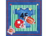 Art4Kids 21614 Blue Jean Football - Contemporary Mount (Art4Kids: 754103216140)