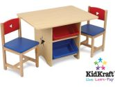 KidKraft 26912 Star Table and Chair Set (Kidkraft: 706943269121)