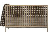 DwellStudio Baby Dots Crib Set, Chocolate (Dwell Studio Nursery: 874520004448)