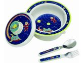 SugarBooger by Ore' Covered Bowl Set, Outerspace (SugarBooger by Ore': 732389014407)