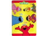 Sesame Street Plush Twin Blanket Plush Elmo Amigos Bed Cover (store51: 092723006209)