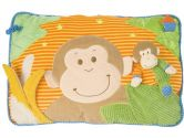 Mary Meyer Fluff N Play Interactive Pillow, Mango Monkey (Mary Meyer: 719771353603)